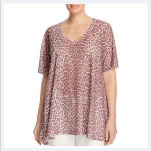 Nally & Millie cheetah top
